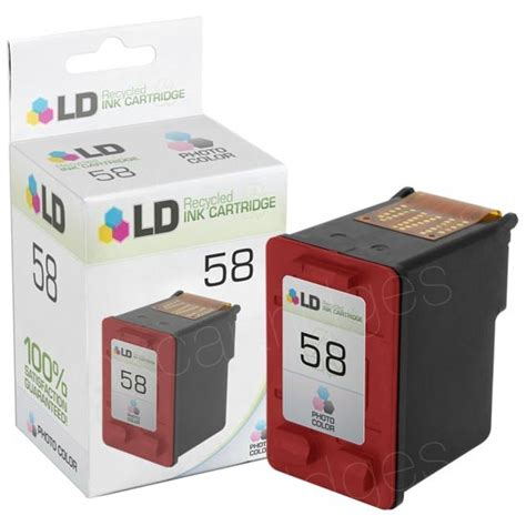 Catridge Hp 58 Color Photo Original remanufactured ink cartridges for hp 58 c6658an photo
