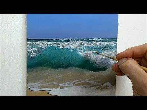 full length unique landscape painting lesson video