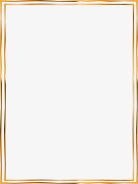 gold wedding border png vector gold line border vector golden line png and