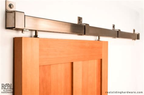 Box Rail Barn Door Hardware Modern Seattle By Real Barn Door Railing