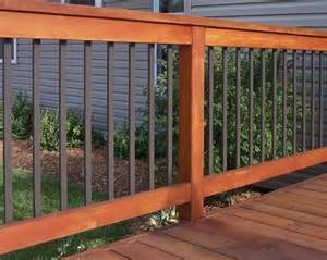 Aluminum Railing Balusters Traditional Aluminum Balusters Deckorators