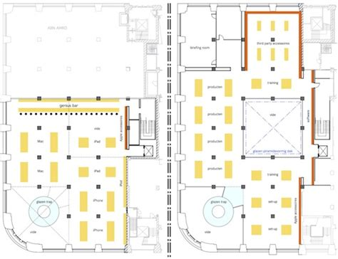 floor plan for mac apple s first dutch retail store to open in amsterdam on