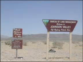 johnson valley california map california map