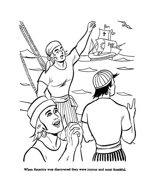christopher columbus coloring pages to download and print