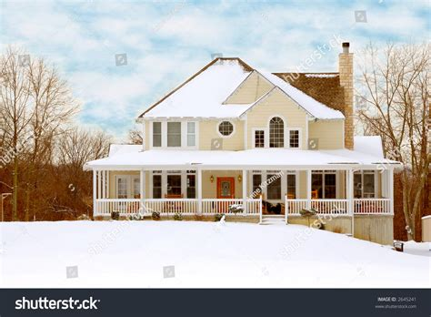 two story farmhouse charming two story farmhouse in the country on a snowy