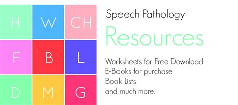 Therapy Resources Speech Therapy Resources