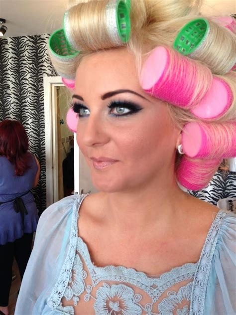 sissy in curlers updos 1000 images about salons curlers on pinterest
