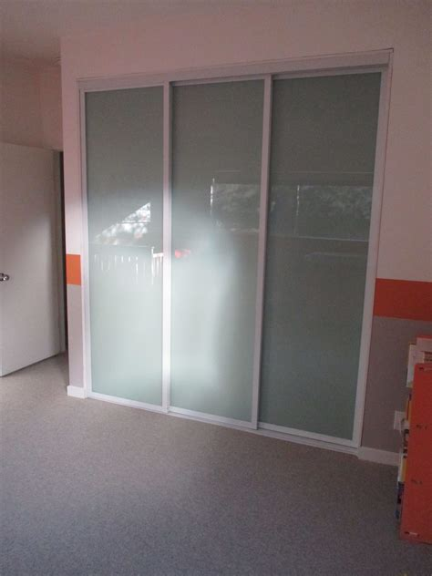 3 panel sliding closet doors 3 panel 3 track modern bypass closet door check out this recent installation in los angeles