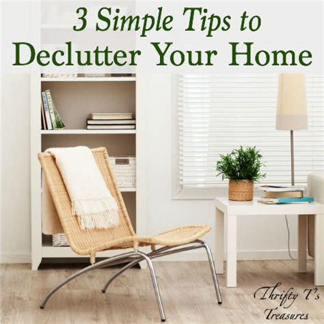 tips for decluttering your bedroom 3 simple tips to declutter your home thrifty t s treasures