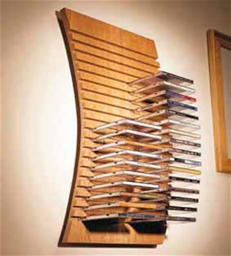 Diy Cd Rack by Home Dzine Home Diy Wall Mounted Cd Rack