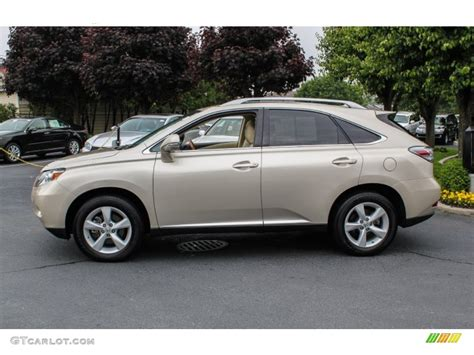Satin Metallic 2012 Lexus Rx 350 Exterior Photo