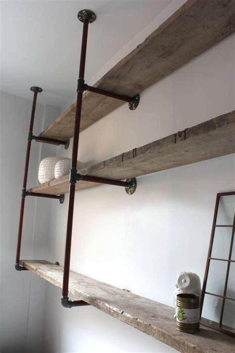 Badezimmer Ideen 3155 by Idee F 252 R Regale Mit Rohren Wardrobe Cabinet Co