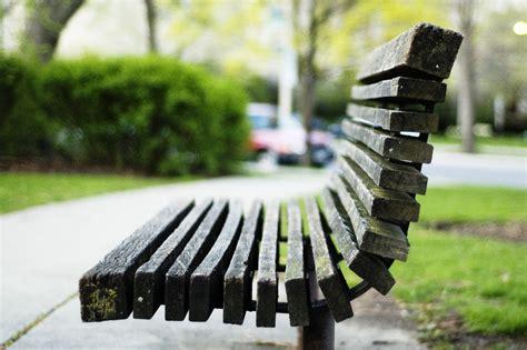 on the bench file oak park bench jpg wikimedia commons