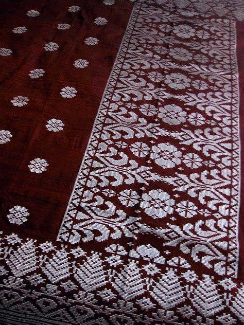 Kain Batik Songket Bunga fabric songket
