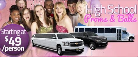 prom limo packages limos for high school proms balls rochester syracuse