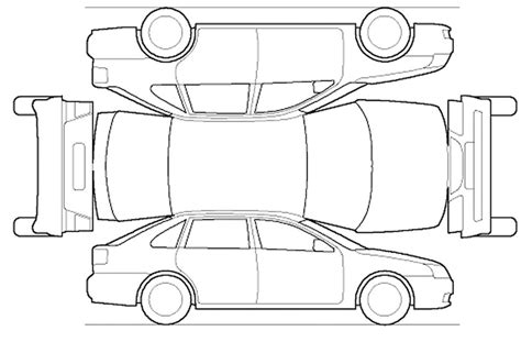 vehicle outline templates 9 best images of diagram template gmc outline