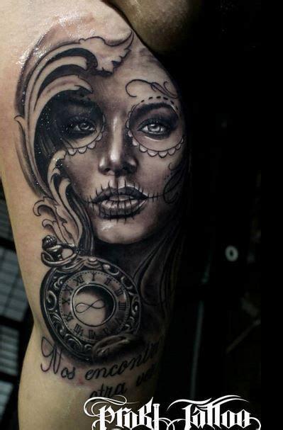 tattoo girl sex skull tattoos