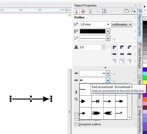 How To Join To Lines In Coreldraw X6 | drawing arrows corel photo paint x6 coreldraw graphics