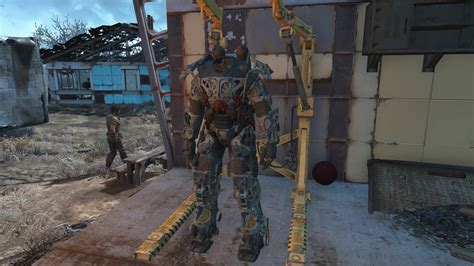 fallout 4 armor fallout 4 power armor guide fusion cores mods repairs usgamer