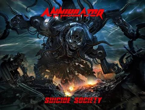 Cd Annihilator album review annihilator society new noise magazine