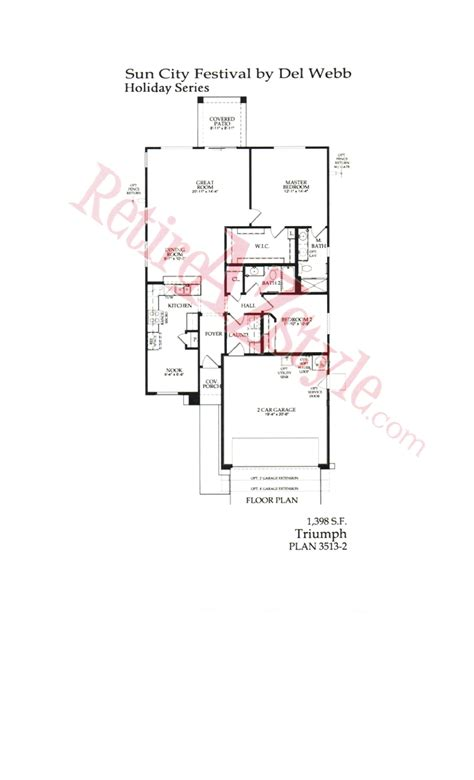 sun city festival floor plans sun city festival floor plans by del webb in buckeye az