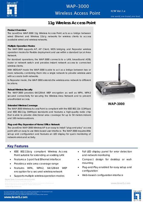 wap tutorial point pdf download free pdf for levelone wap 3000 wireless access