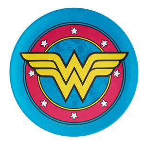 wonder woman kids plate for sale at zak com