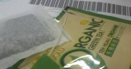 Satu Kotak Teh Hijau teh hijau untuk mengempiskan perut ourkizuna