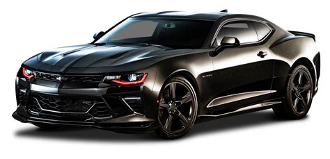 chevrolet camaro and black chevrolet camaro black car png image pngpix
