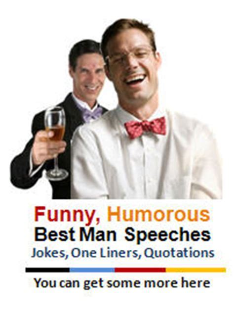 Funny Best Man Speeches Are All Time Favorites