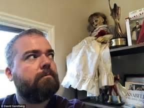 annabelle doll killer annabelle creation director keeps doll in guest bedroom