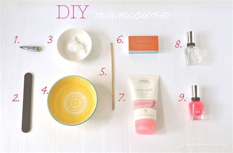 Steps To A Diy Manicure by Diy Manicure 10 Easy Steps
