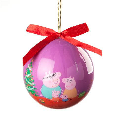peppa pig family christmas ornament personalized planet