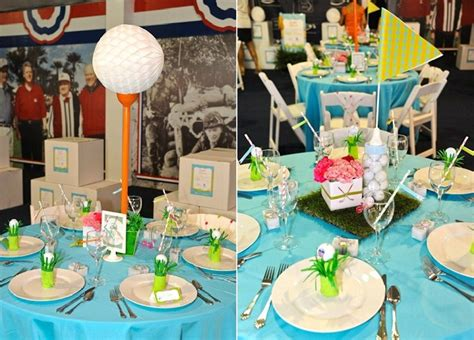 golf themed centerpieces preppy golf themed baby shower operation shower