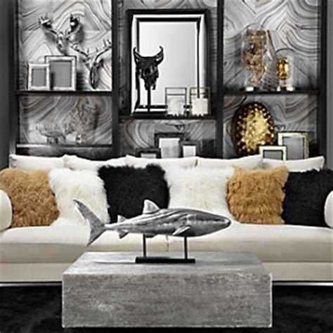 gold and silver living room decor stylish home decor chic furniture at affordable prices z gallerie