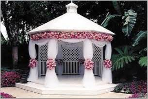 Backyard Wedding Gazebo Gazebo Wedding Decorations Decoration