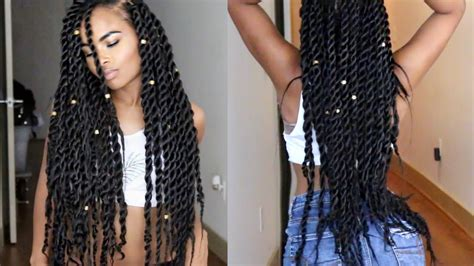 pictures of jumbo senegalese twist senegalese havana jumbo twists natural hair tutorial