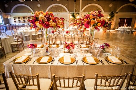 wedding reception table settings photos vineyard indian wedding by photography in pleasanton california maharani