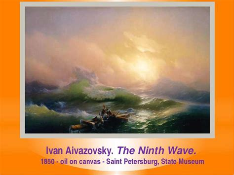 pics for gt ivan aivazovsky the ninth wave ivan aivazovsky презентація з англійської мови