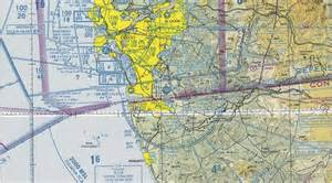 San Diego Sectional Chart brown field ksdm flying california
