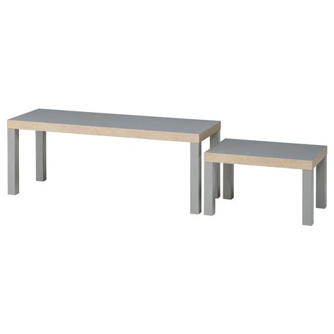 grey ikea lack nest of tables set of 2 grey ikea
