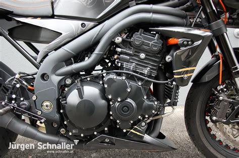 Triumph Motorrad In England Kaufen by Umgebautes Motorrad Triumph Speed Triple 1050 Von J 252 Rgen
