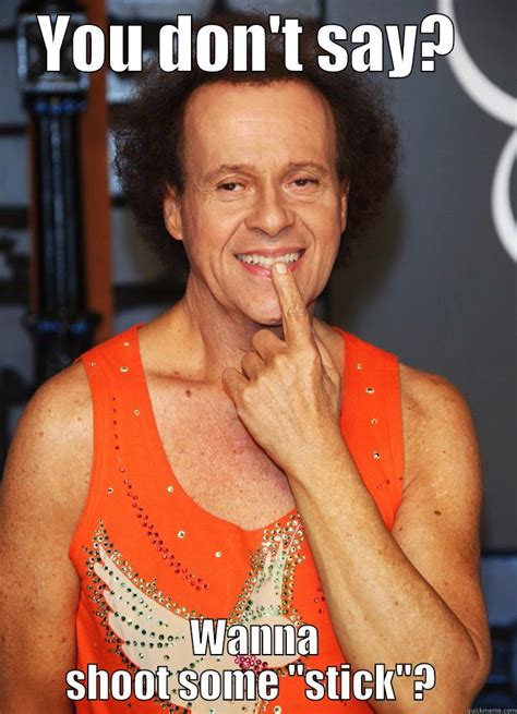 Richard Simmons Memes - lovely richard simmons valentine s day meme selection