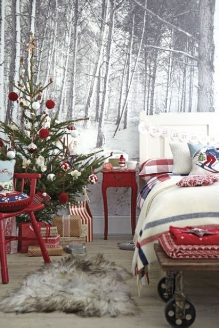 adorable christmas bedroom decor ideas digsdigs