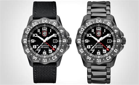 Luminox Nighthawk luminox f 117 nighthawk gmt 6420 a new series from