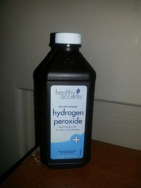 hydrogen peroxide dogs pin peroxide to treat ear infection staph on
