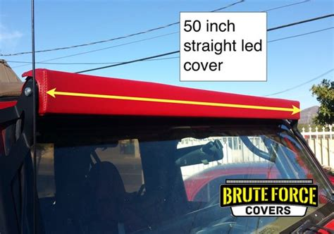 52 inch curved light bar cover 50 inch double row led light bar cover brute force covers