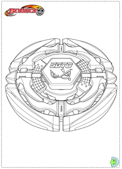 free coloring pages of yu beyblade