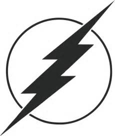 Lightning Symbol In Car Flash Comic 4 Quot Lightning Bolt Decal For Car Window