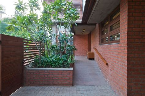 beautiful brick walls home decor singapore eco friendly green home with brick walls in india